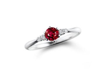 ルビーの婚約指輪04の画像