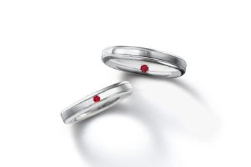 ルビーの結婚指輪06の画像