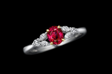 ルビーの指輪モリスルビー0.90ct(ミャンマー産天然無処理ルビー)の画像