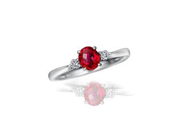 ルビーの婚約指輪09の画像