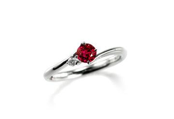 ルビーの婚約指輪02の画像