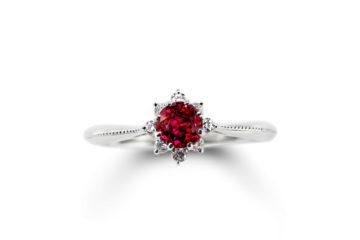 ルビーの婚約指輪03の画像