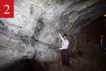 モゴック鉱山への画像