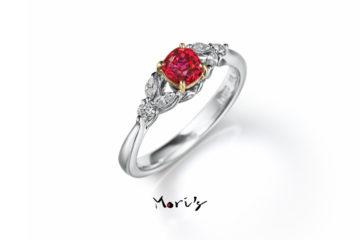 Ruby Princess | 婚約指輪  | 天然ルビーの画像