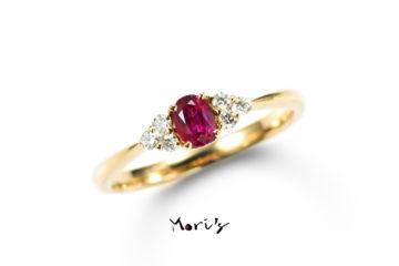 RAGUNA | 婚約指輪  | 天然ルビーの画像