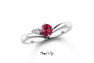 MyLife03 | 婚約指輪  | 天然ルビーの画像