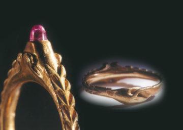 婚約指輪の宝石として伝統的に愛されてきたルビーの画像